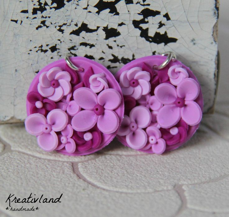 Potpourri #3 - handcrafted from polymer clay (own design)
