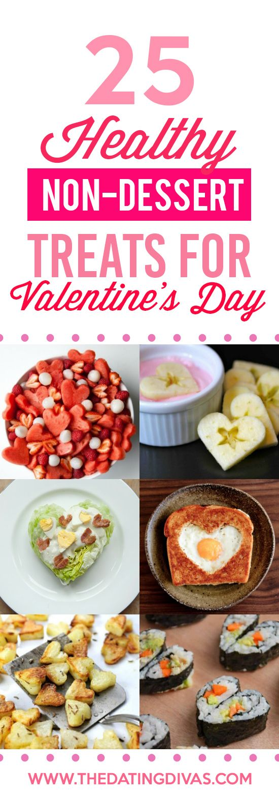 Non-Dessert Healthy Treats for Valentine's Day