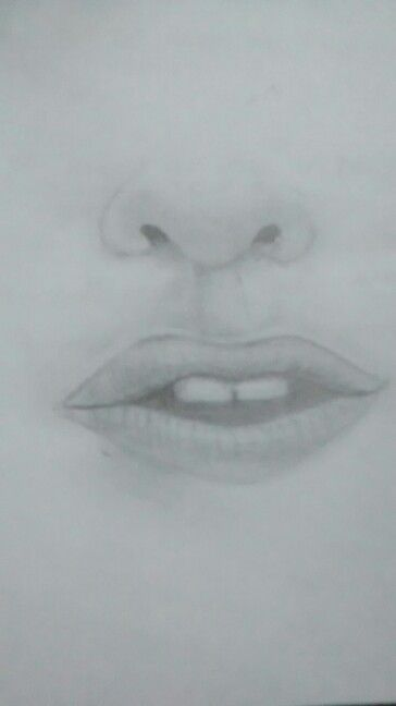 #Lips and #nose
