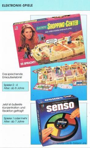 Electronic Shopping Centre, Senso