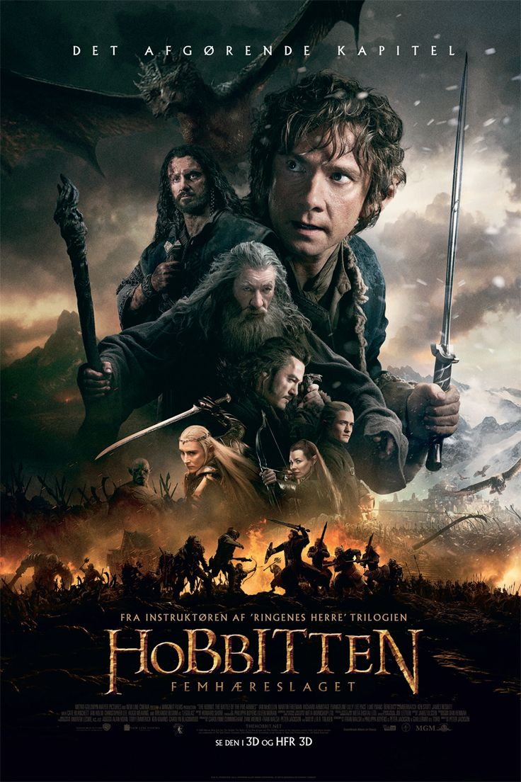 Hobbitten: Femhæreslaget | Nordisk Film Biografer