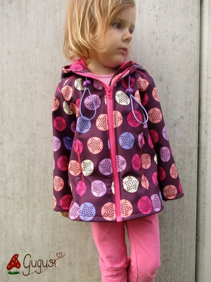 Schnittmuster / Ebook lillesol basics No.49 Softshelljacke / Nähen Jacke / sewing pattern Softshell jacket