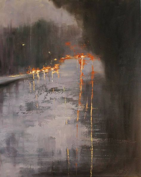 "Saatchi Art Artist Chin h Shin; Painting, ""On the Road"" #art"
