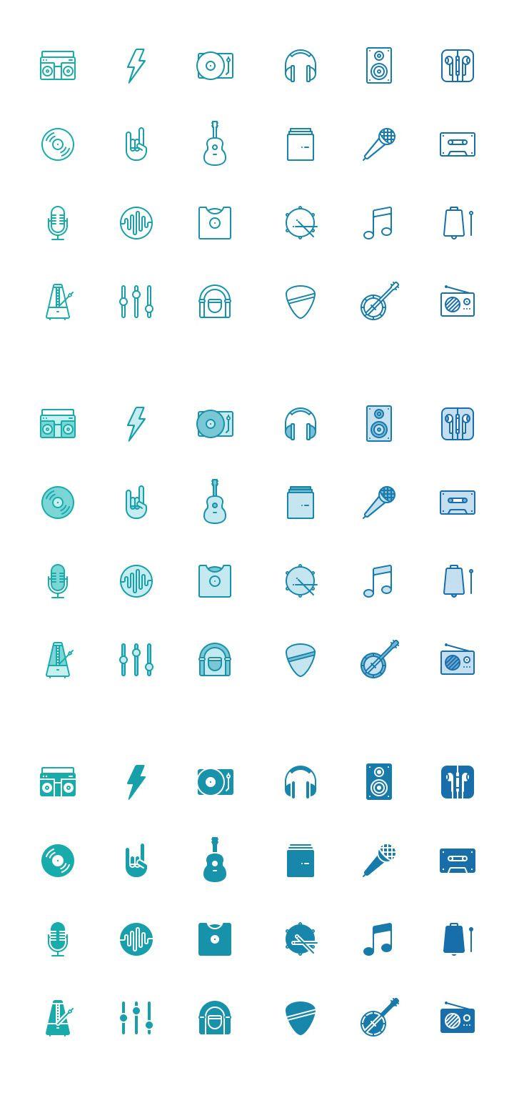 Foto: Paquete de iconos PSD de música graits recursos photoshop iconos
