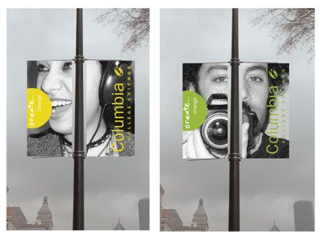 Columbia College banners - more personalized stories about our demographics