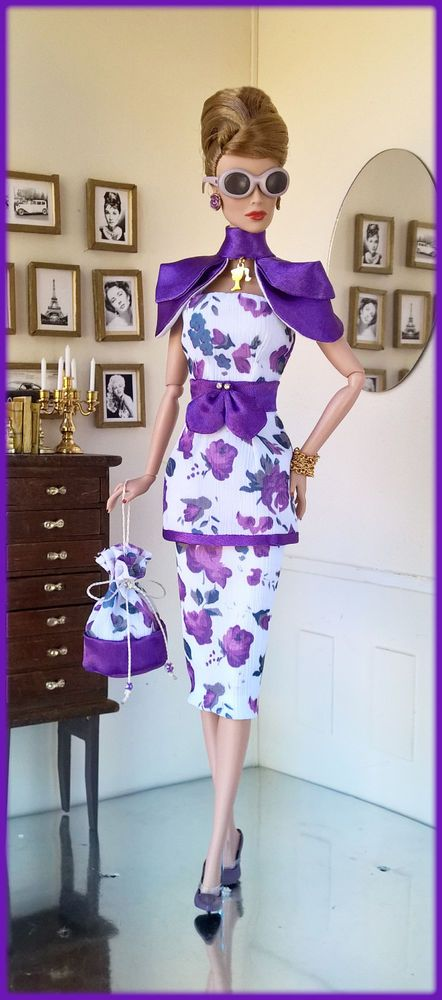 "OOAK Fashions for Silkstone / 12"" Fashion Royalty / Vintage barbie /Poppy parker #LoveFashion"