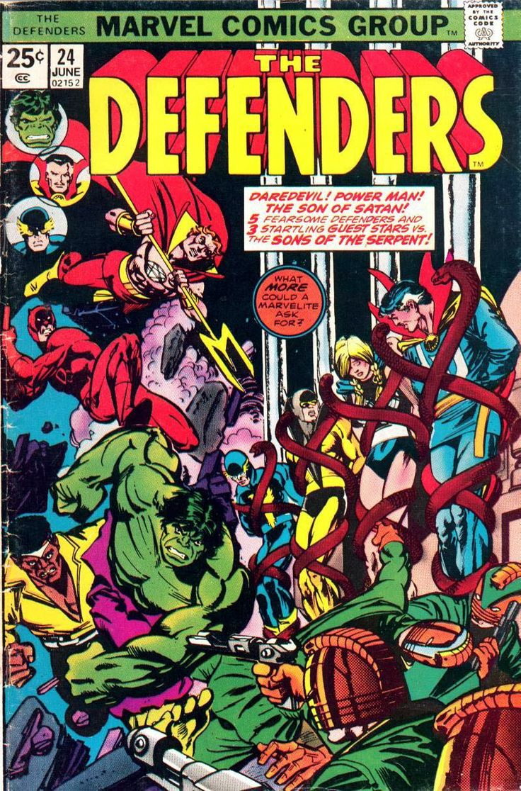 #MARVEL Comics Group [] The Defenders