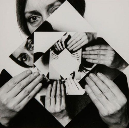 • DORA MAURER (born in 1937) • SEVEN ROTATIONS • 1979, self-portrait • 1/6 gelatin silver prints •