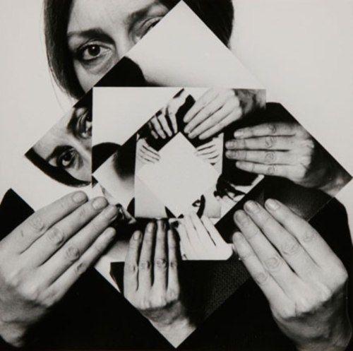 • DORA MAURER (born in 1937) • SEVEN ROTATIONS • 1979, self-portrait • 1/6 gelatin silver prints •