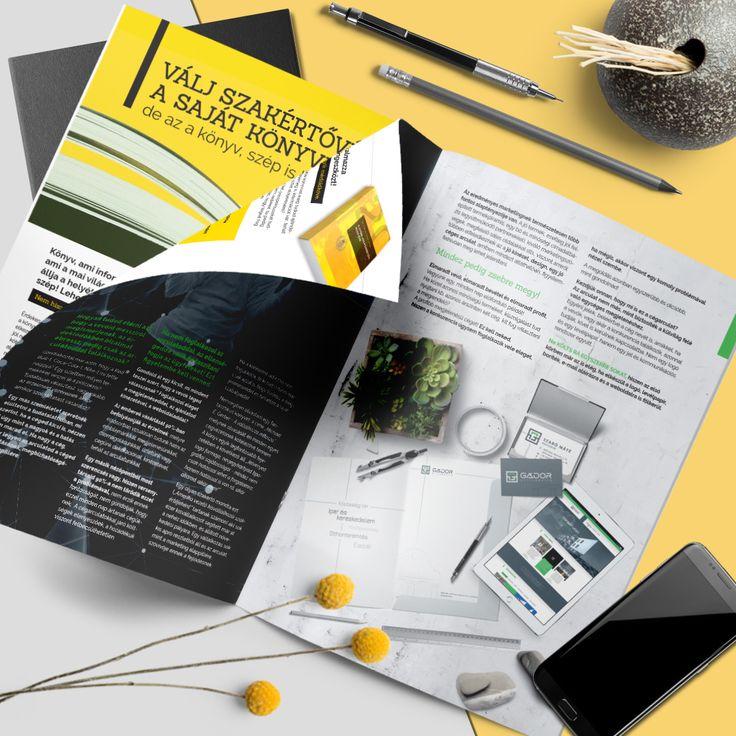 Az Infoartnet grafikai üzletágának marketing anyaga. #mockup, #design, #infoartnet, #cégarculat, #corporate idetity
