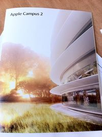 Apple CFO Peter Oppenheimer sends brochure to Cupertino neighbors inviting feedback on new 'Campus 2′ | News | Archinect