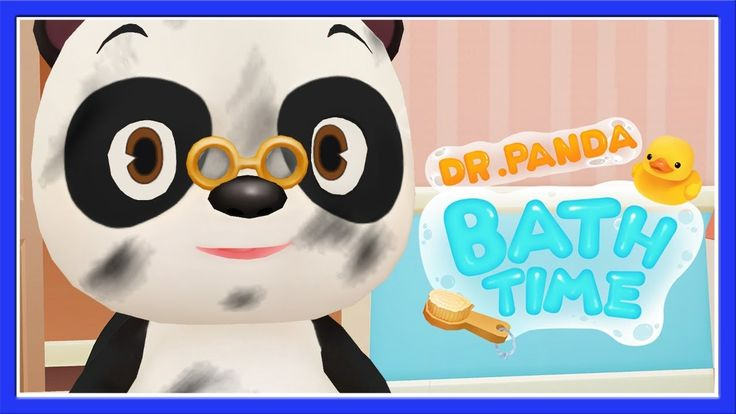 Baby Learn About Hygiene Routine - Bathtime, Dress Up, Fun Dr Panda Game...