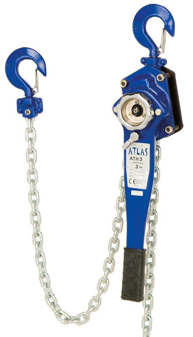 ATLAS standard hubzug 3 ton zincirli çektirme, 1,5 mt zincir boyu ile ideal bir hubzugdur. ATH 3 #hubzug #lifting #leverblock #atlas #mekanik #manuel #chain   http://www.ozkardeslermakina.com/urun/hubzug-zincirli-cektirme-atlas-ath-3/