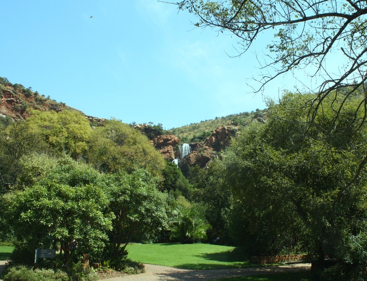 My beautiful waterfall. Walter Sisulu Botanical Gardens. Johannesburg, South Africa
