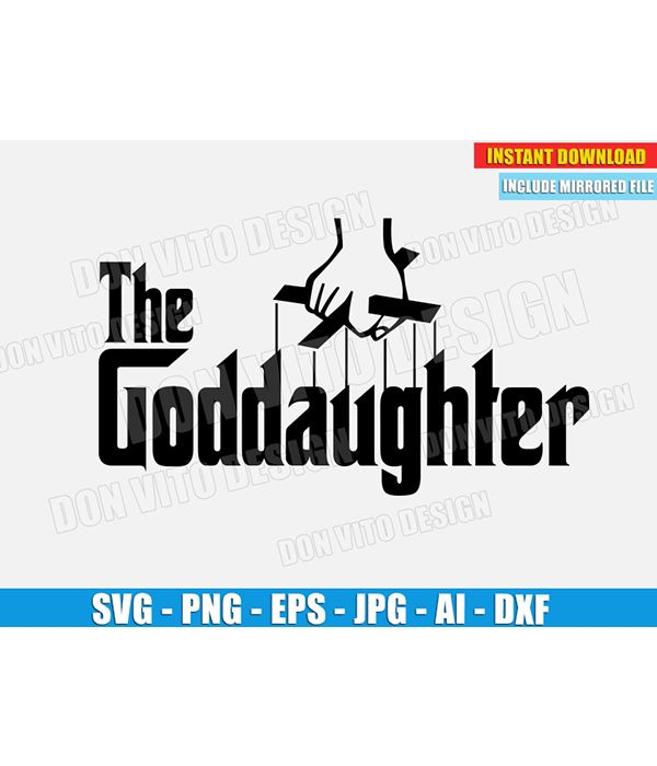 Pin On The Godfather Svg Files