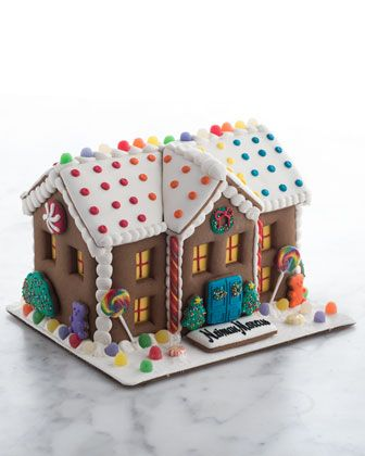 GIngerbread Mansion by Dylan\'s Candy Bar at Neiman Marcus.