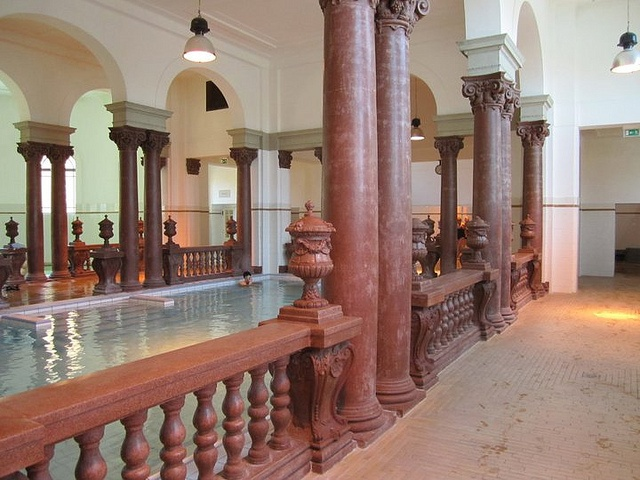 Indoor Baths in Hungary by adriennw, via Flickr