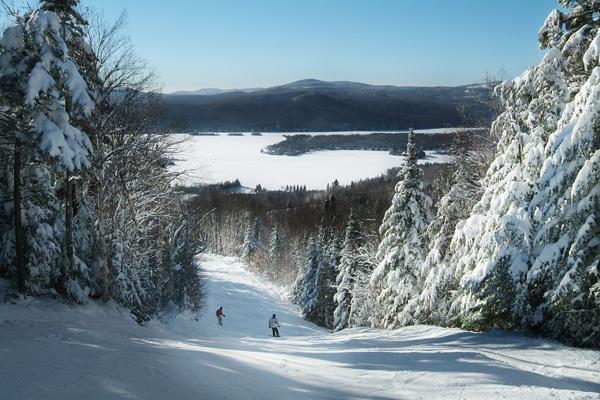 Mont-Garceau, St. Donat, Quebec Que de souvenirs à cette montagne...
