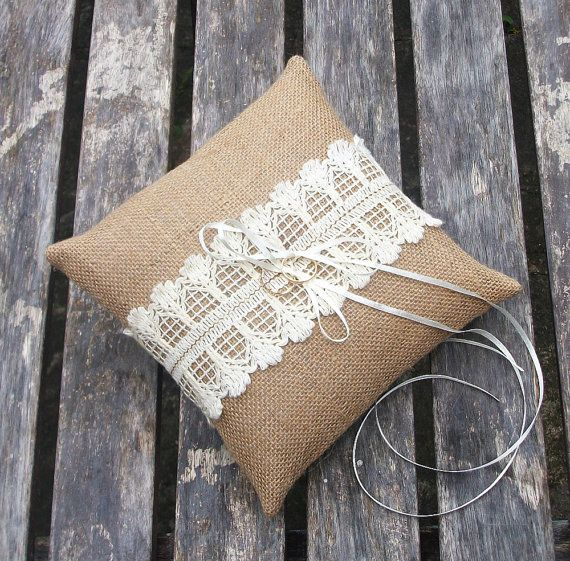 51 best Wedding ring pillows images on Pinterest Ring pillow Ring