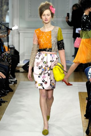 The Fashion Expressway: Runway Review: Moschino Cheap and Chic Fall 2012 Re
