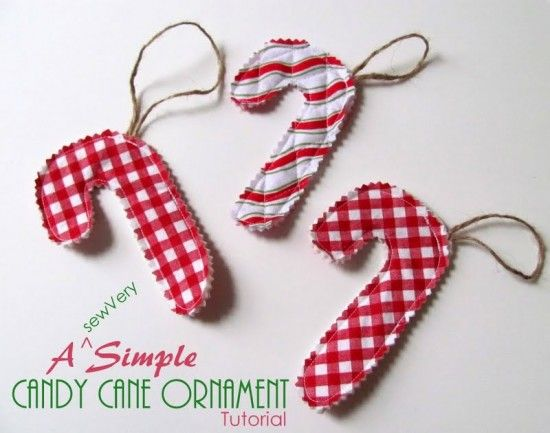 Candy Cane Ornament Feature