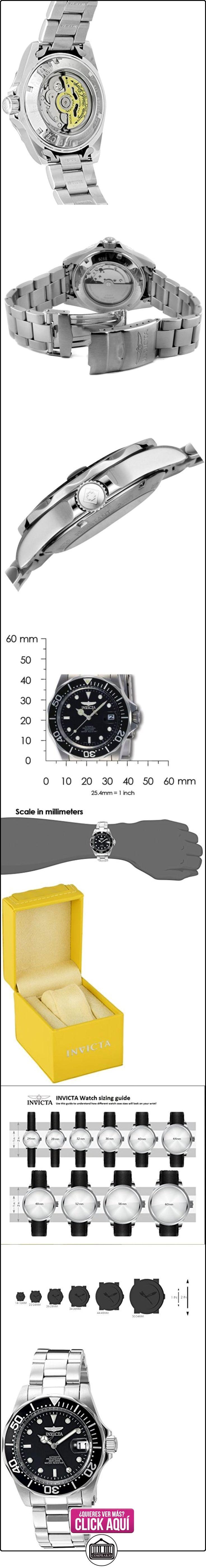 Invicta 8926 - Reloj para hombre color negro / plateado  ✿ Relojes para hombre - (Gama media/alta) ✿ ▬► Ver oferta: http://comprar.io/goto/B001E96DHA