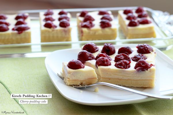 cherry pudding cake  (english recipe at bottom of page)