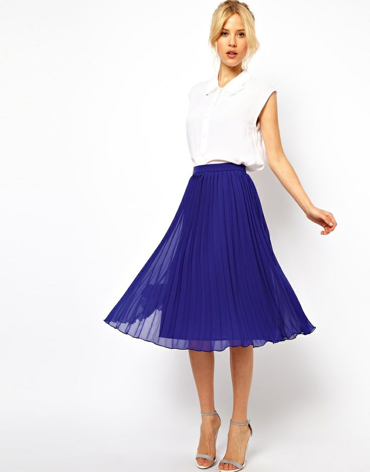 Pleated perfection for work or play! #yourstylistkaren @ASOS.com