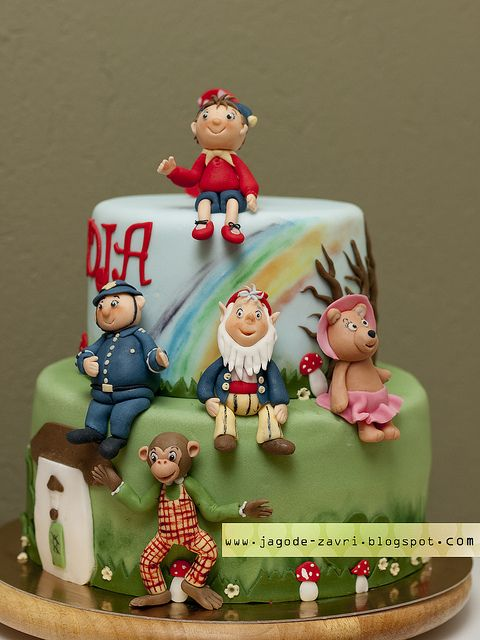 Not actually the work of Beek, of course, but the most magnificent Noddy cake I've ever set eyes on. A real work of art!