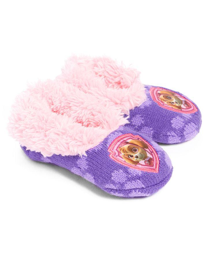 PAW Patrol Pink & Purple Slippers
