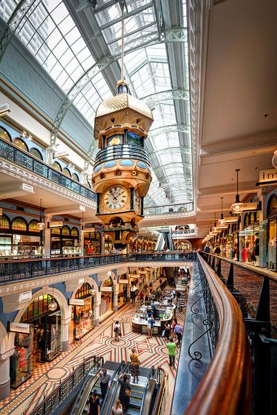 The Queen Victoria Building holds one of the most beautiful Shopping malls I have ever visited. There are 200 hundred small shops, including...