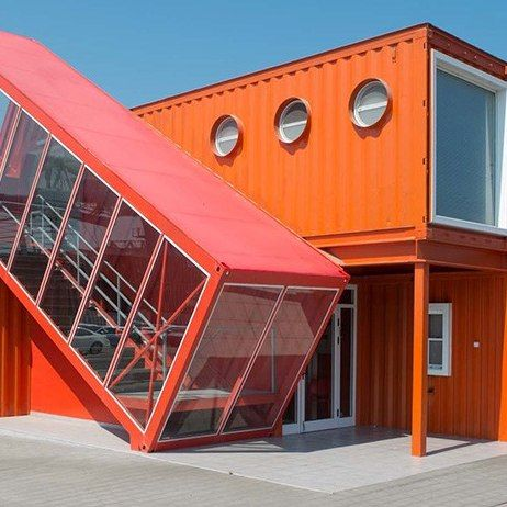Shipping Container Architecture Around the World : Architectural Digest