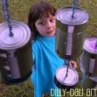 26 Tin Can Activities, Music & Crafts on hands on : as we grow