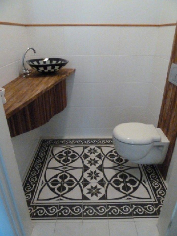 Bathroom | sink | tiles | design | Mijn vergaarbak van leuke ideeën die ik wil toepassen in mijn huis. - Marokkaanse tegels. mooi in kleine ruimte als de wc