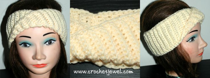 15 Best Images About Crochet Twisted Headband On Pinterest