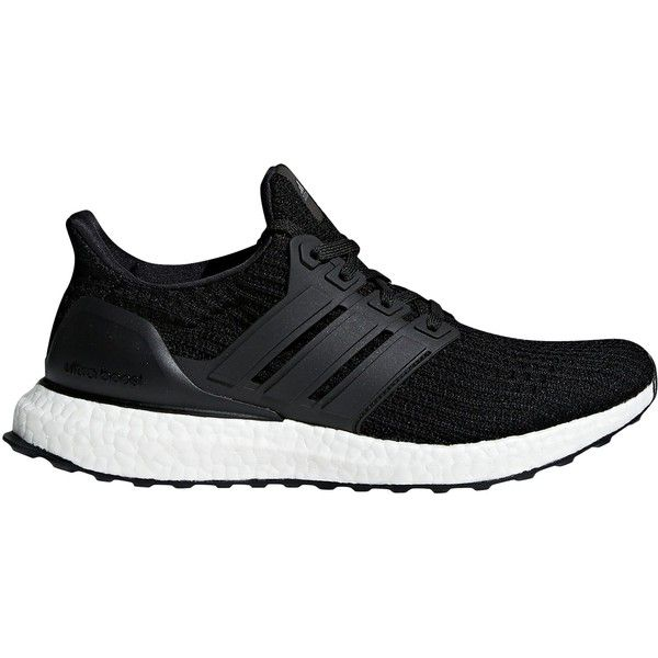 adidas UltraBOOST Women's Running Shoes ($200) ❤ liked on Polyvore featuring shoes, athletic shoes, core black, light weight running shoes, caged shoes, black laced shoes, adidas athletic shoes and lightweight shoes