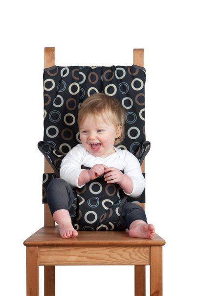 Šikovný návlek na stoličku pre dieťatko