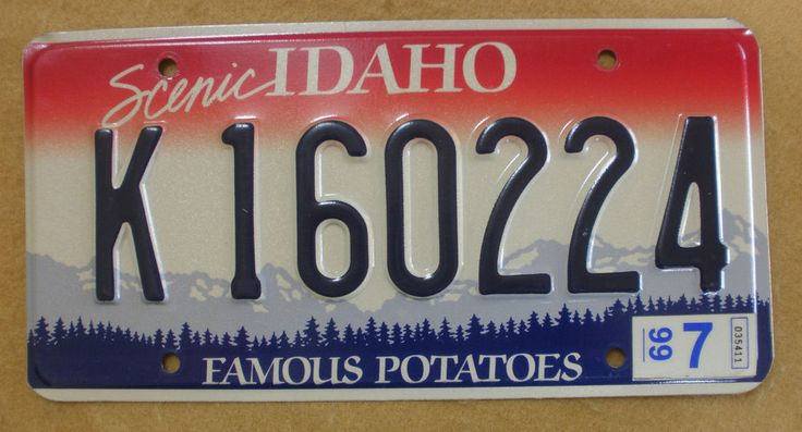 1000 images about idaho on pinterest license plates for Florida temporary fishing license