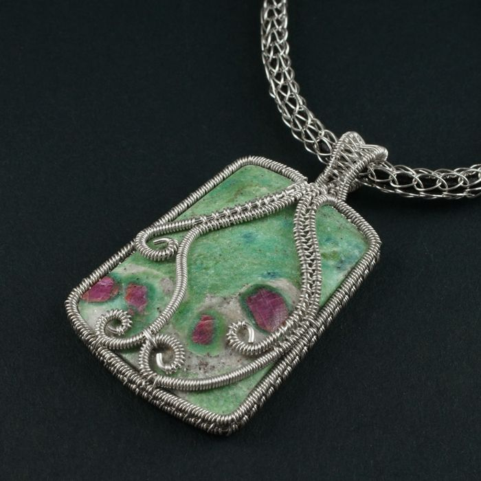 687 best Wire Work Pendants images on Pinterest   Wire jewelry ...