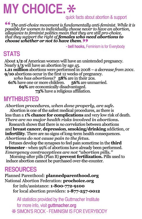 A look at the supporter of the pro choice movement in the abortion debate