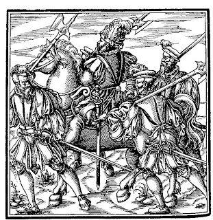Campos de Batalla: Rávena, 11 de abril de 1512. La guerra se moderniza. Para forzarles a atacar, la artillería francesa bombardeó a los castellano, provocando finalmente una carga de la caballería hispana. Ésta fue repelida por la caballería francesa, pero los arcabuceros españoles, resguardados en un parapeto, derrotaron una ofensiva de los ballesteros franceses.