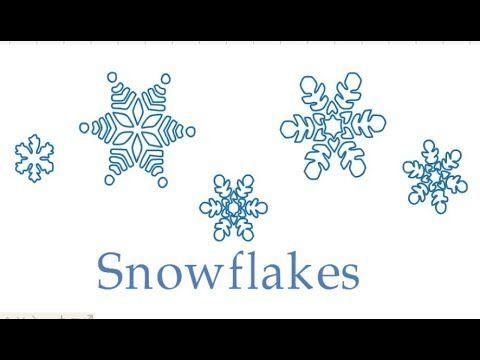 Чарівні сніжинки, 1 клас, образотворче мистецтво, як намалювати сніжинку...