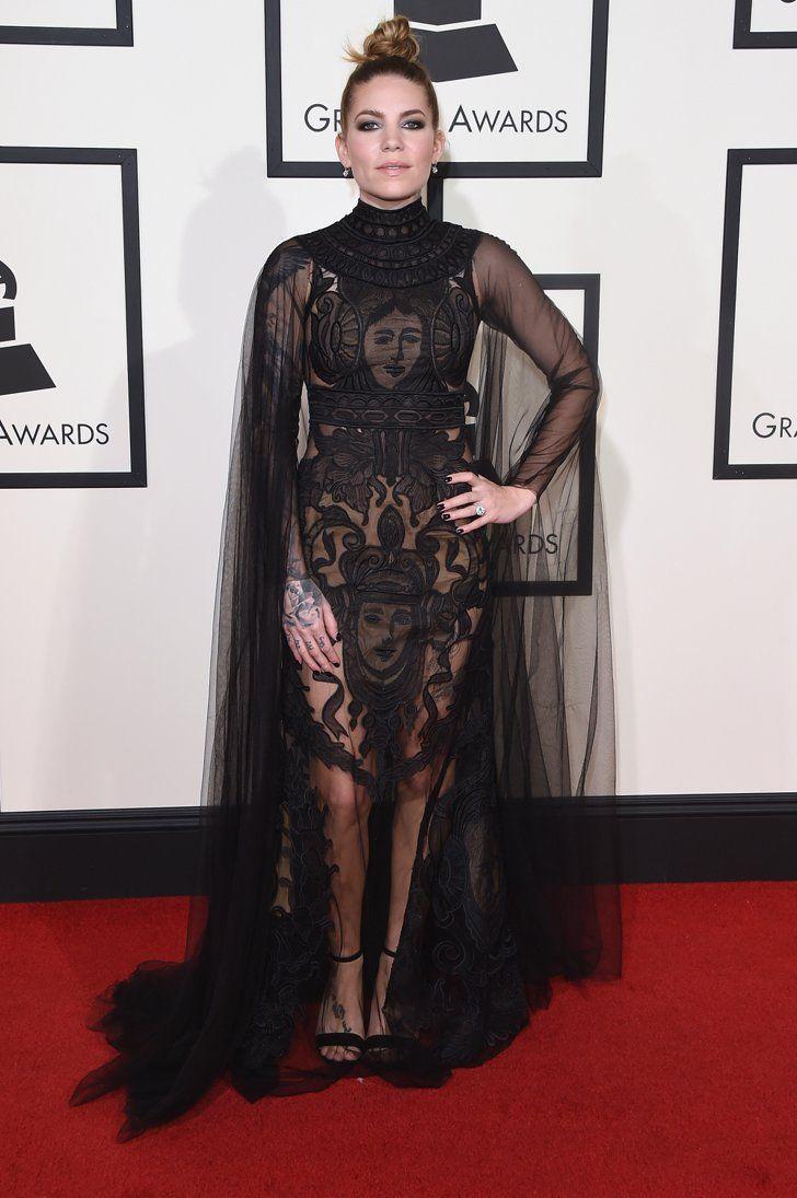Pin for Later: Voilà Ce Que les Stars Ont Porté Sur le Tapis Rouge des Grammys Skylar Grey