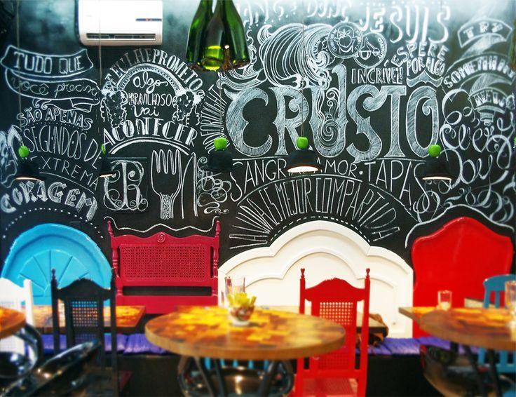 Crustô Gastro in Ipanema, Rio de Janeiro. Designed by 02Gatos