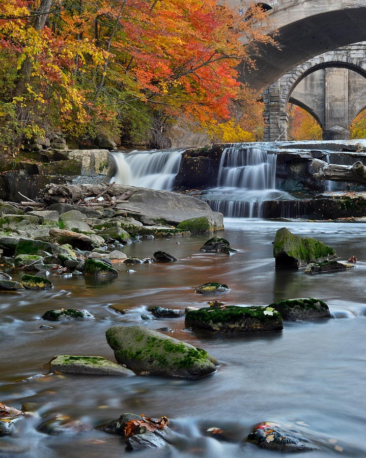 Berea Falls, Cleveland, Ohio. Where we would go to swim and play.