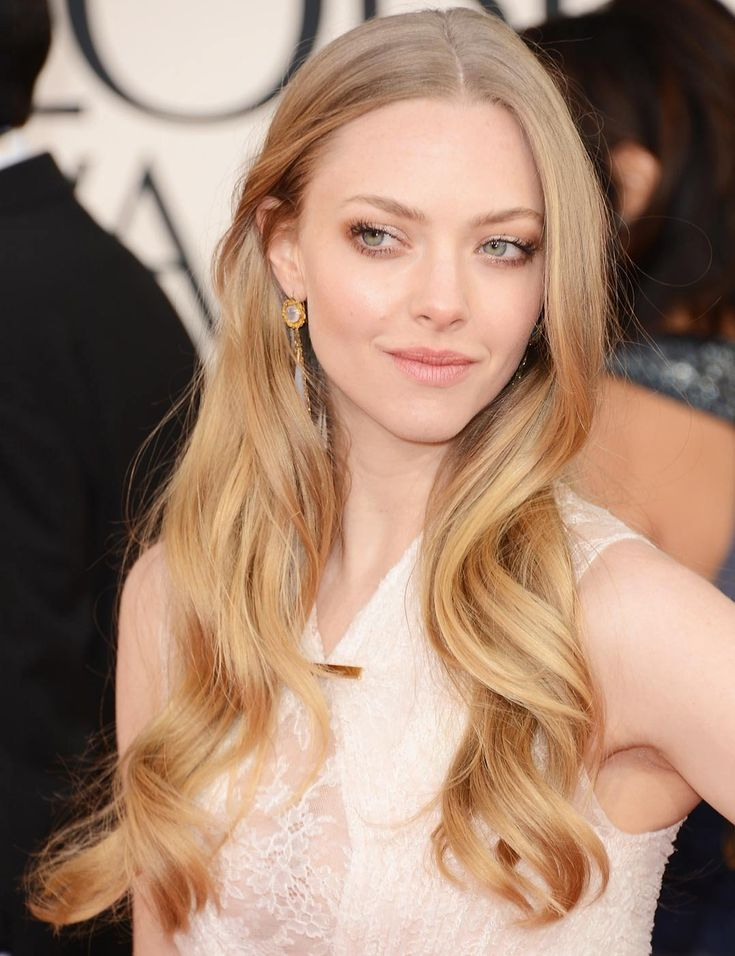 Amanda Seyfried at Golden Globes 2013: Effortless Hair | ELLE UK