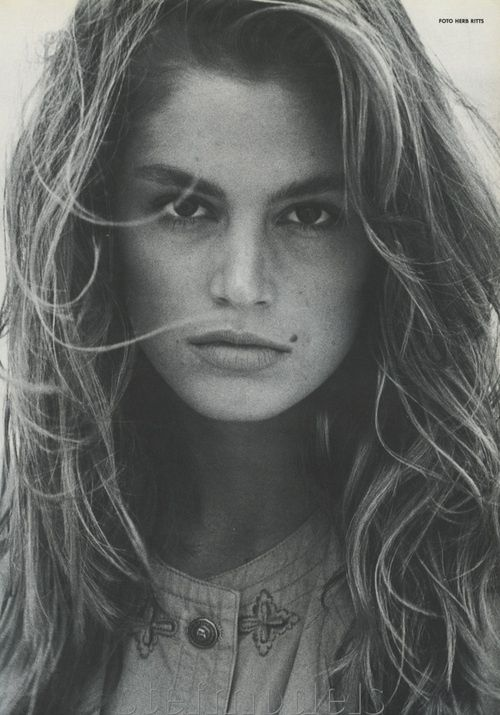 Cindy Crawford. Absolutely gorgeous