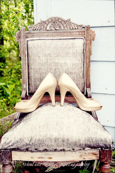 Shalene Dawn Photography | Bride Wedding Shoes