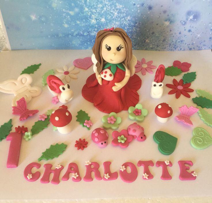 Fairy edible cake topper set edible cake toppers edible