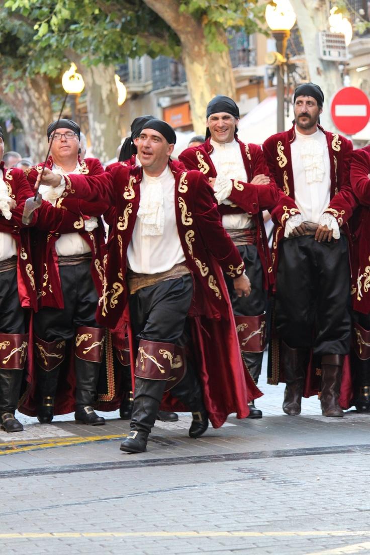 Moors & Christians festival. Denia, Spain